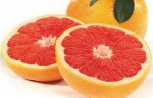 Roed grapefrugt
